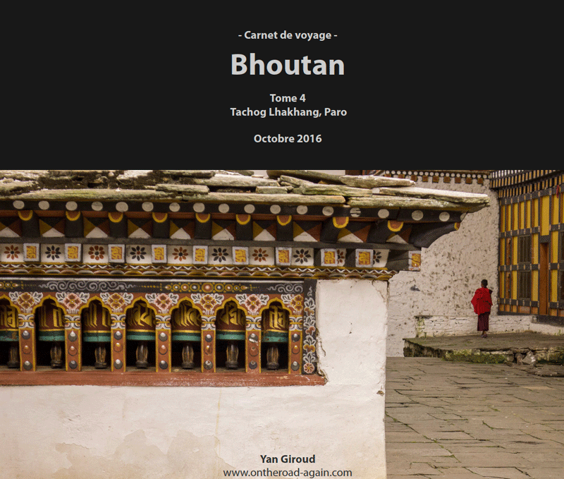 Bhoutan 2016 | Tome 4